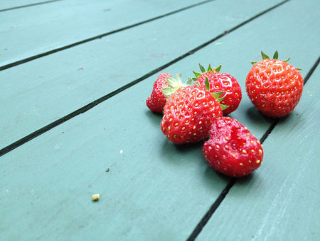 What $7 is Worth in Food - Strawberries
