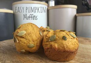 Easy Pumpkin Muffins Main