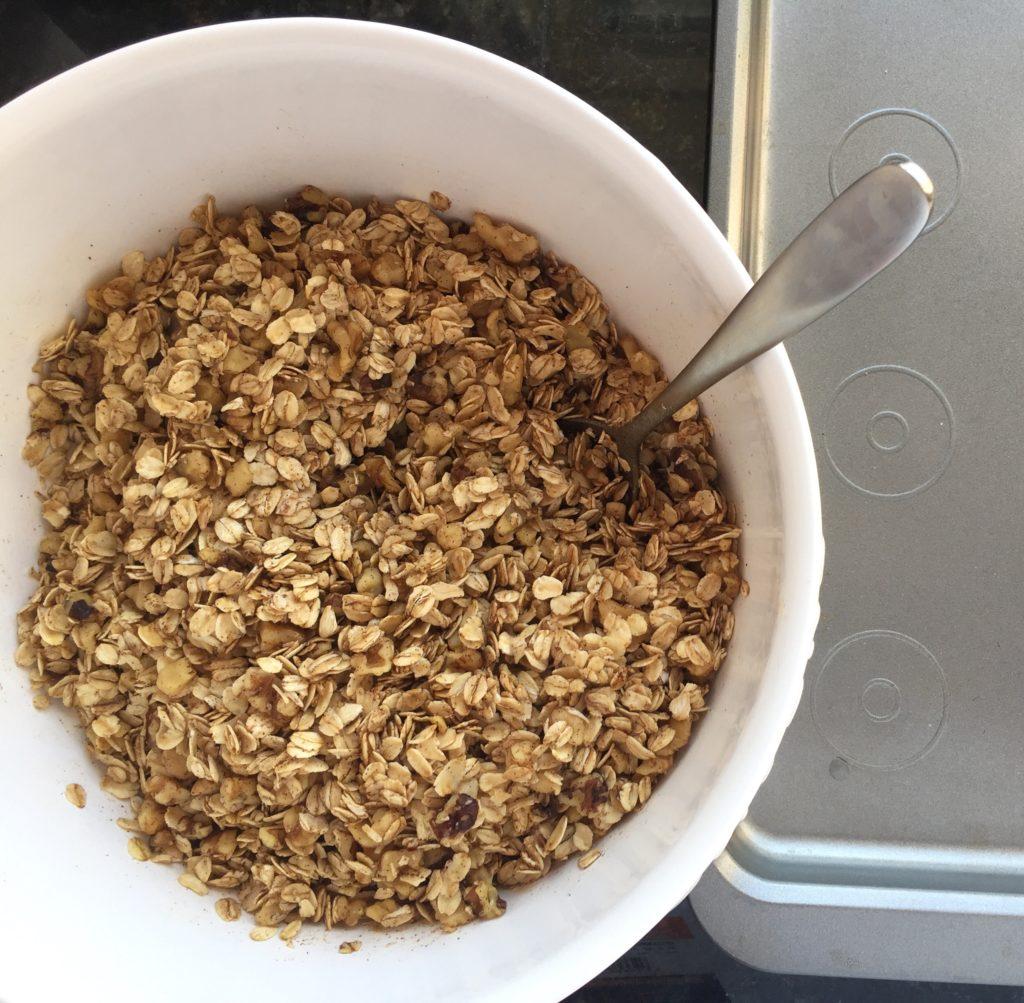 Healthy Homemade Granola Top