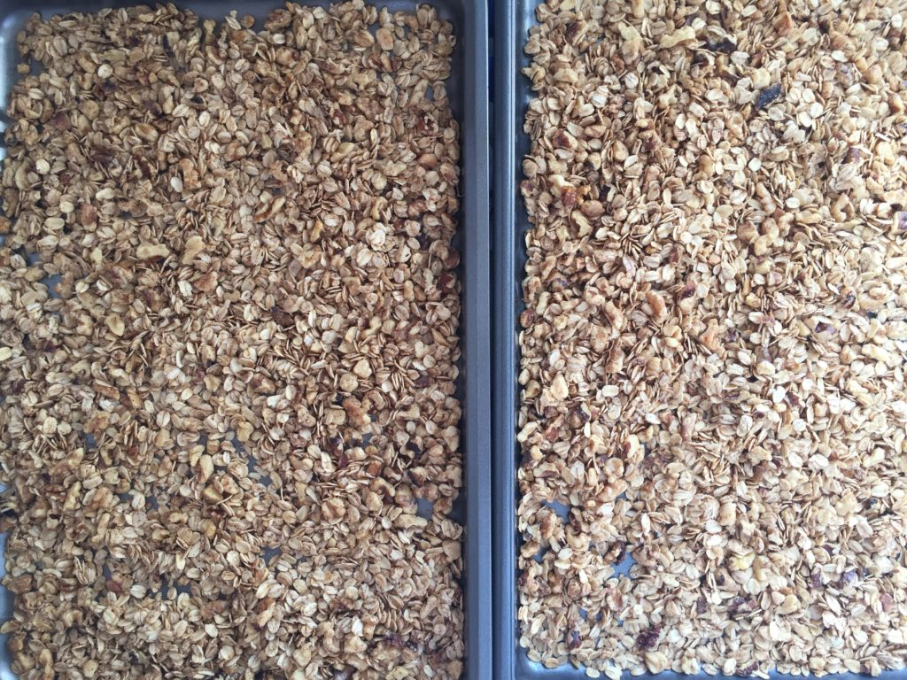 Healthy Homemade Granola Raw