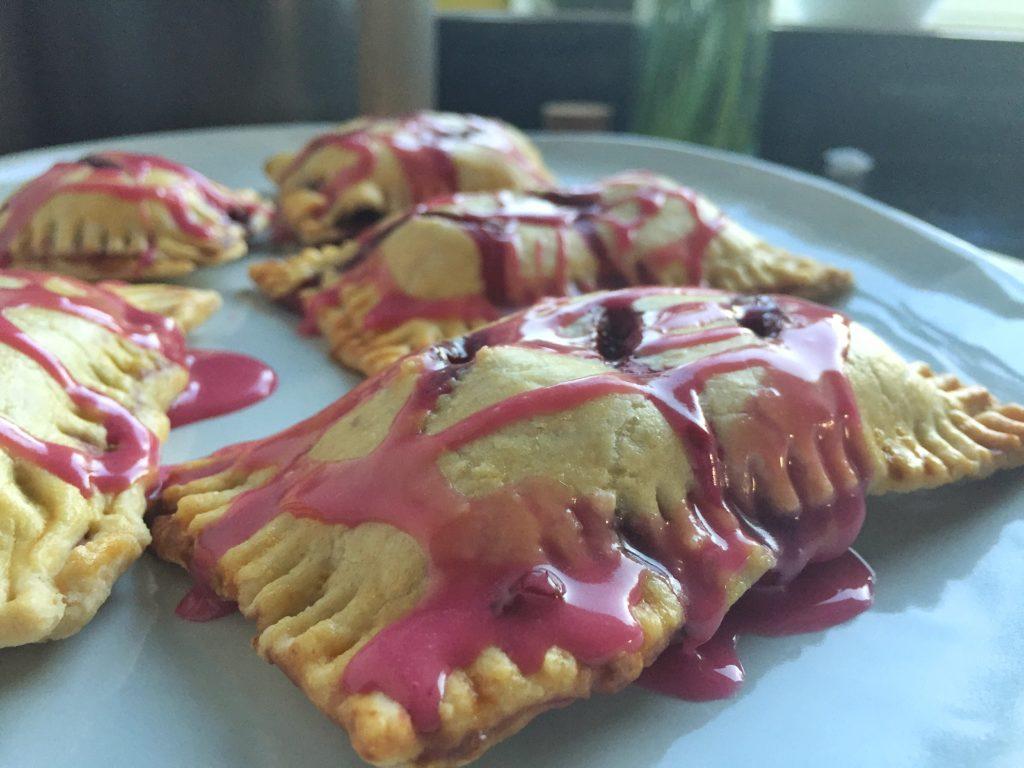 Homemade Pop Tarts Close Up