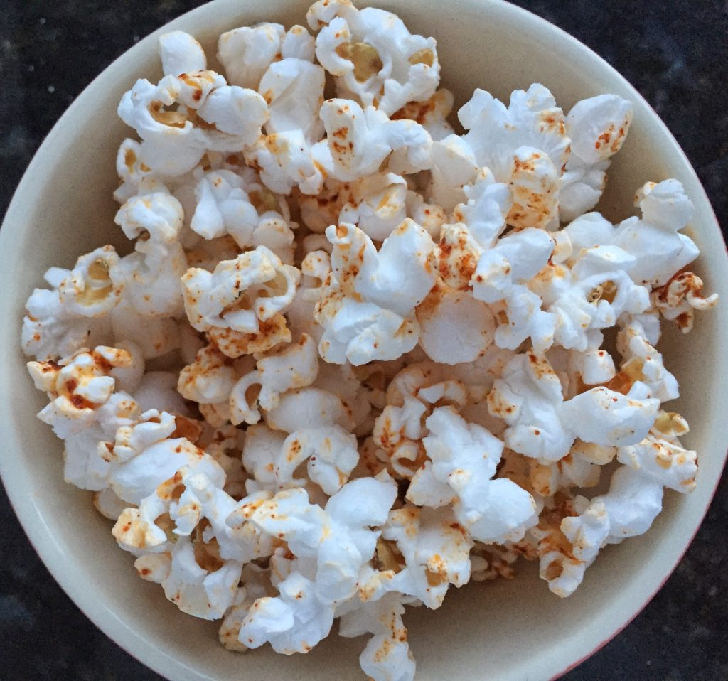 Flavored Popcorn Recipes Spicy and Smokey Paprika