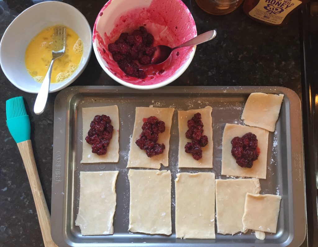 Filling Homemade Pop Tarts