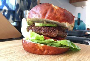 Healthy Bison Burgers