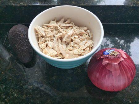 Slow Cooker Avocado Chicken Salad Ingredients