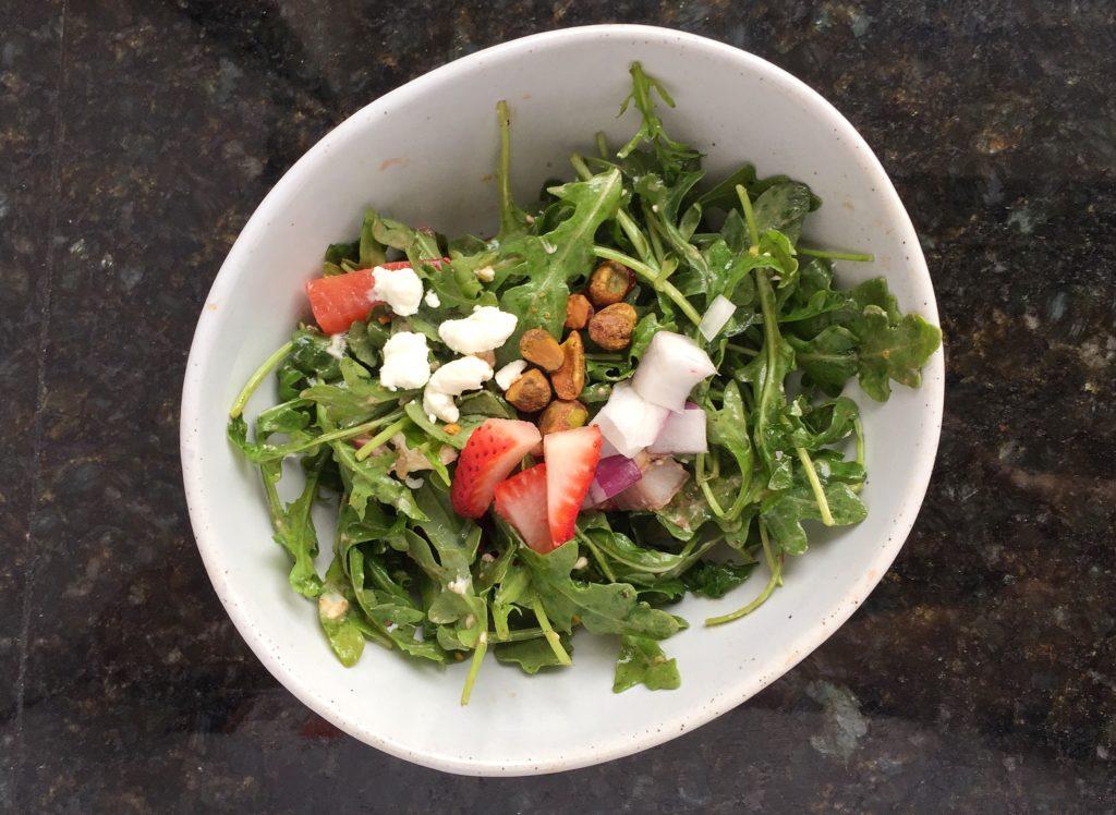 Spring Arugula Salad - five spring recipe ideas