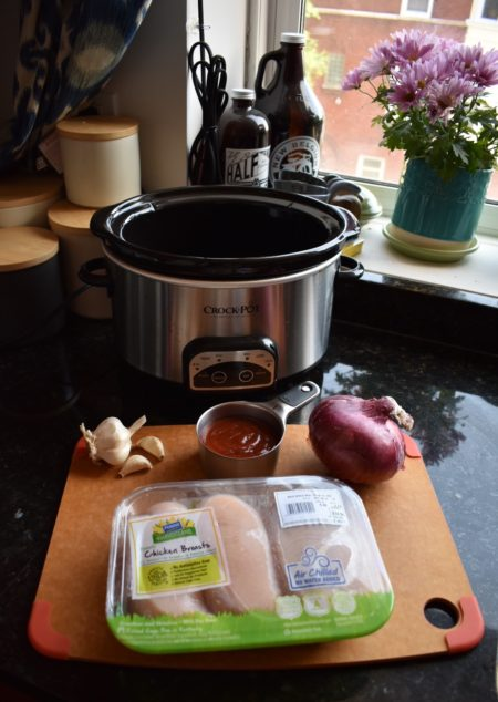 Easy Slow Cooker BBQ Chicken Ingredients