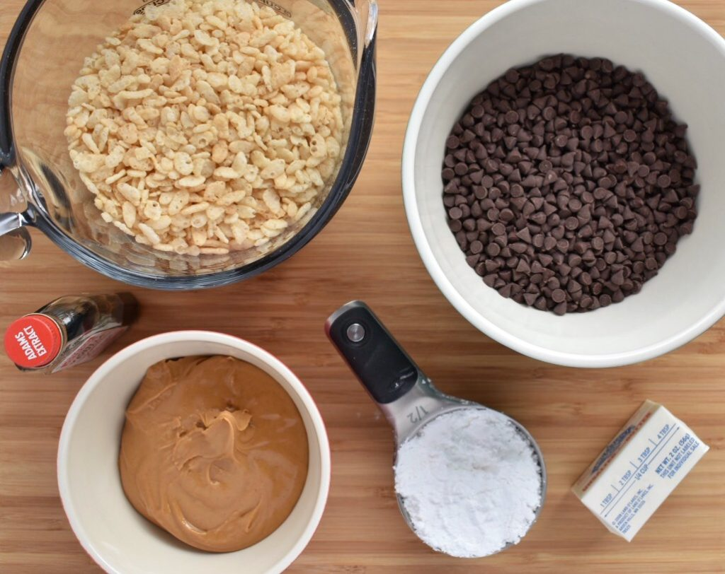 No Bake Peanut Butter Balls Ingredients