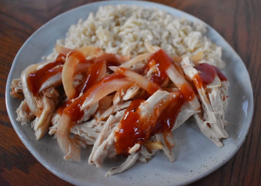 Easy Slow Cooker BBQ Chicken