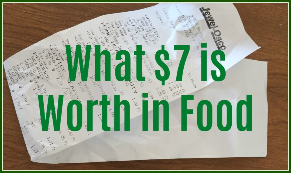 What $7 is Worth in Food