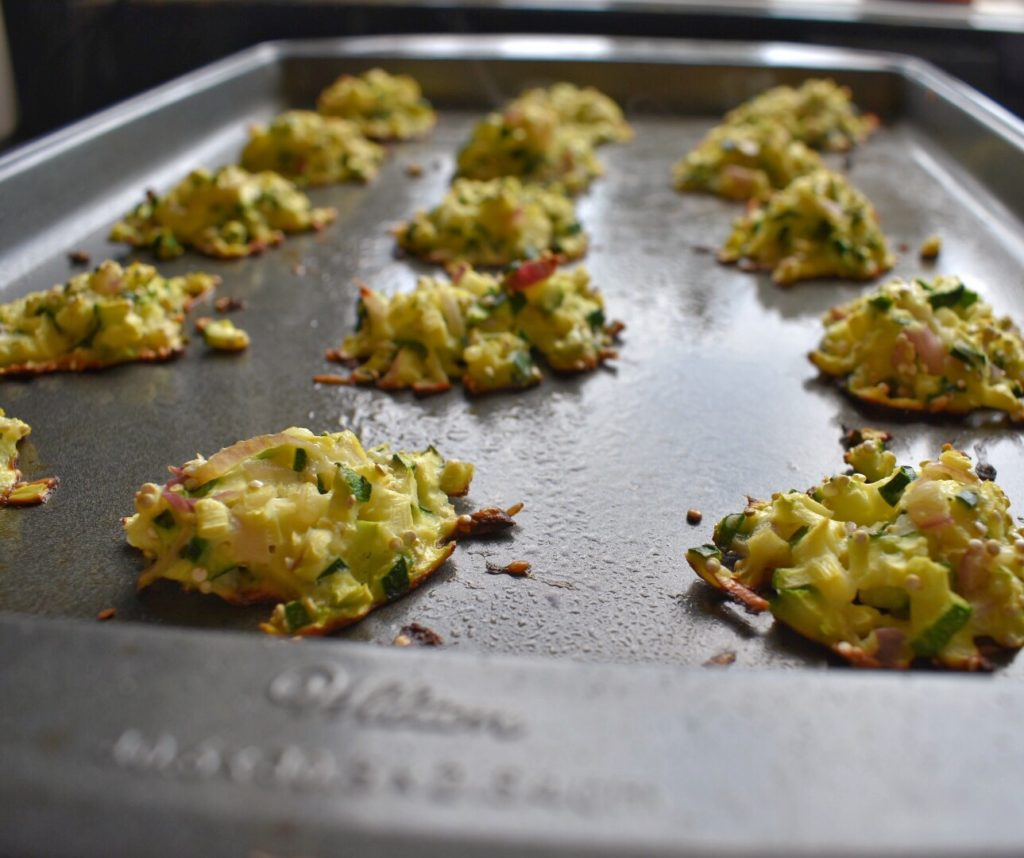 Oven-Baked Zucchini Cakes Bake