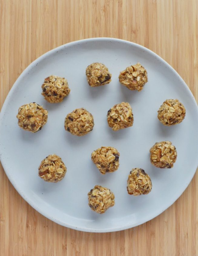 No Bake Maple Tahini Cookies