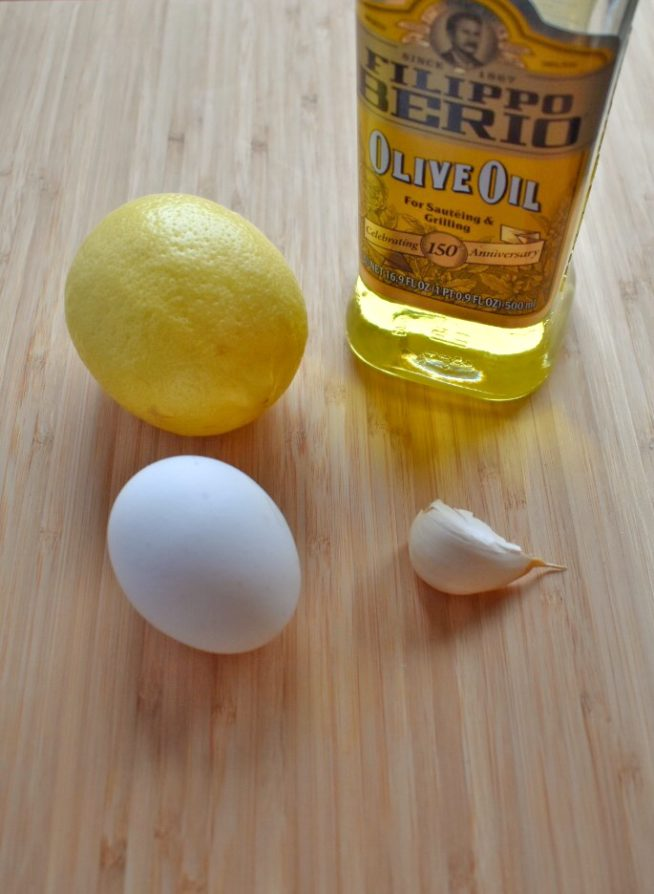 How to Make Aioli at Home Ingredients