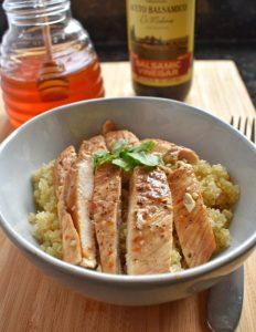 Spicy Honey Balsamic Chicken