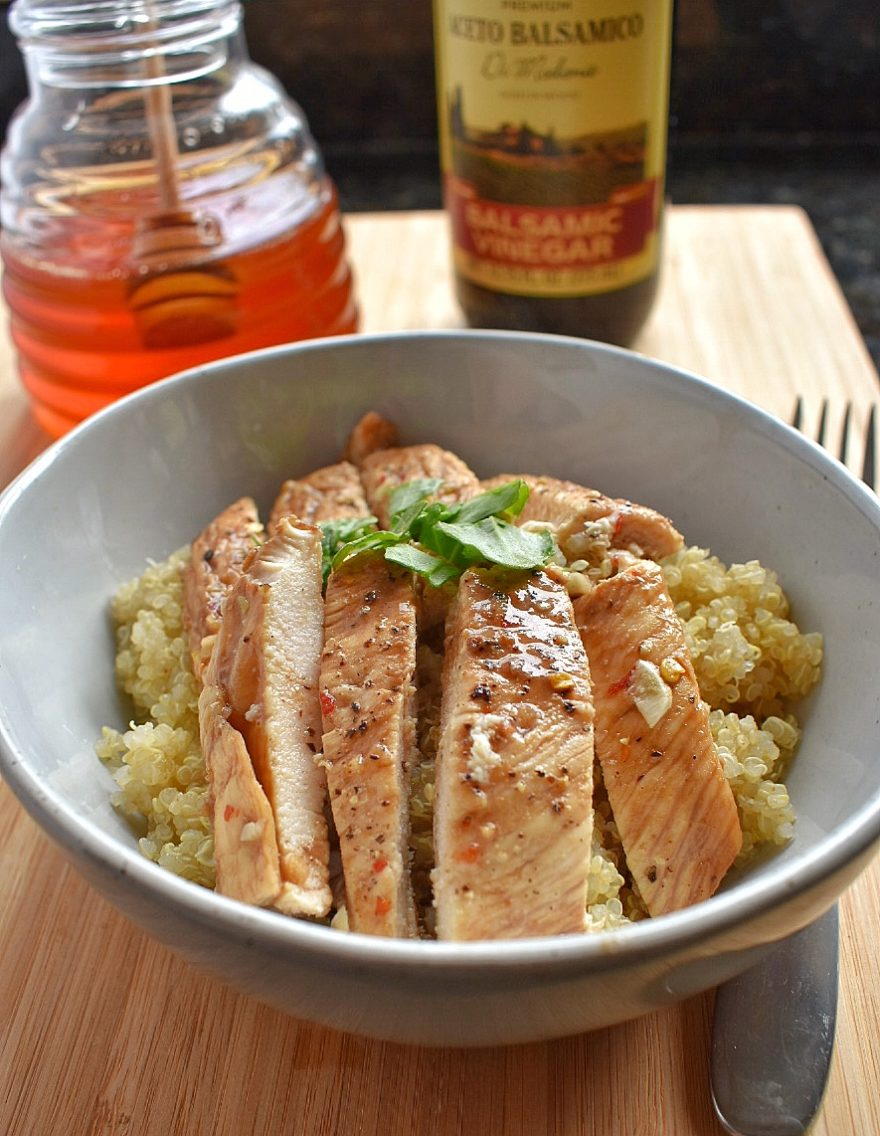 Spicy Honey Balsamic Chicken