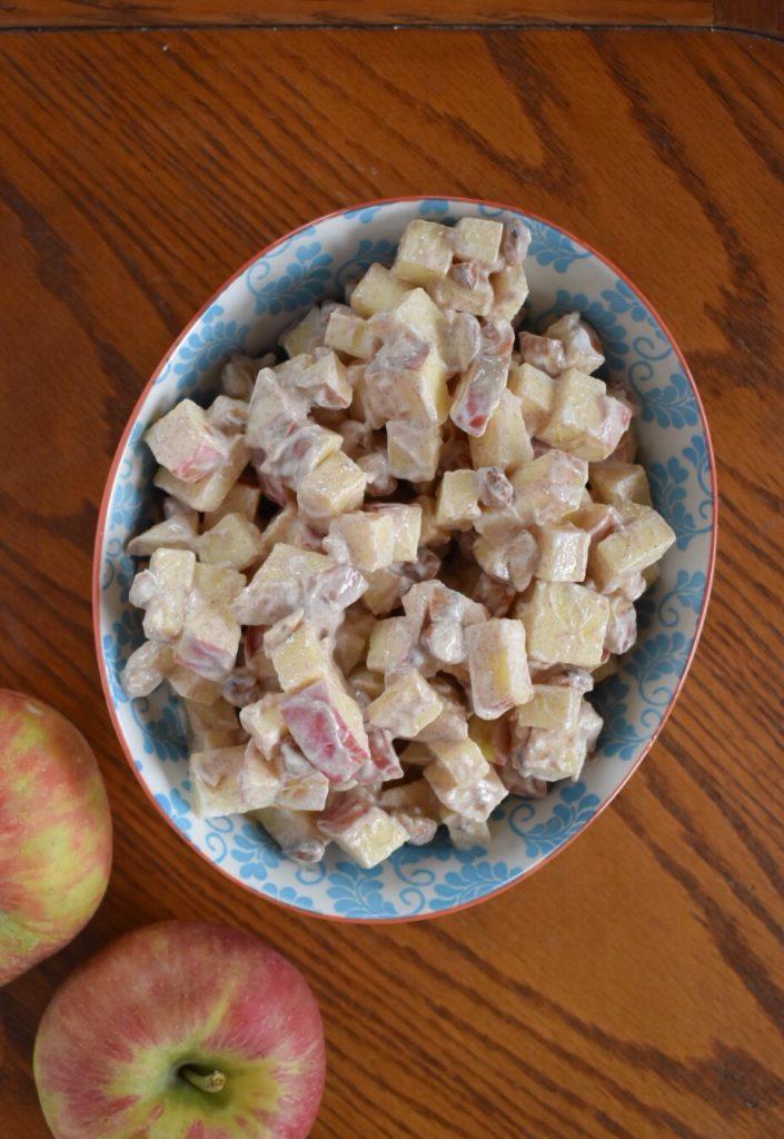 Greek Yogurt Apple Salad