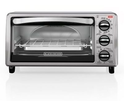 BLACK+DECKER TO1313SBD 4-Slice Toaster Oven