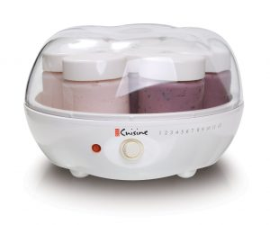 1. Euro Cuisine YM80 Yogurt Maker