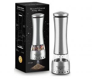 10. Electric Salt & Pepper Grinder By Beyond Flavor