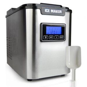 Upgraded Nutrichef Portable Ice Maker