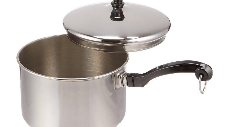 11. Farberware Classic Stainless Steel 2-Quart Covered Saucepan