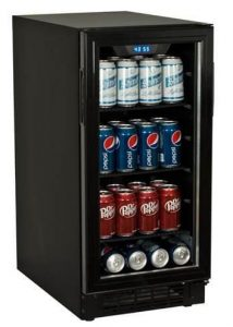 Built-In Beverage Cooler for 80 Cans