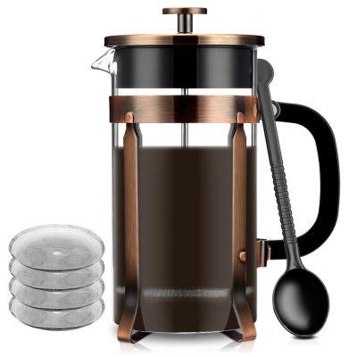 13. Famirosa French Coffee Press Maker