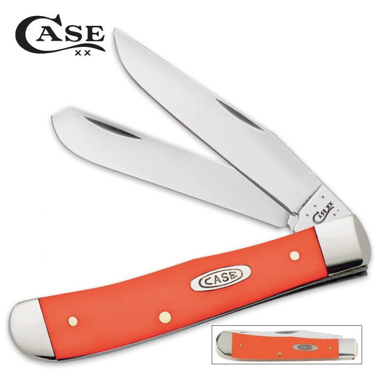 3. Case Orange Trapper Pocket Knife