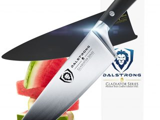 3. DALSTRONG Chef Knife - Gladiator Series - German HC Steel