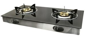PROLINEMAX Double Steel Portable 2 Dual Burner Stove