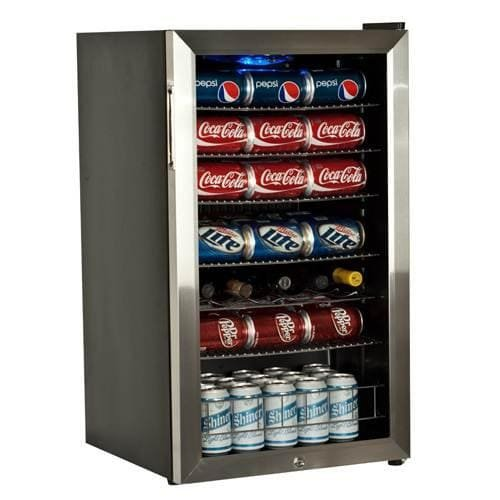 EdgeStar B103 Can and 5 Bottle Freestanding Beverage Cooler