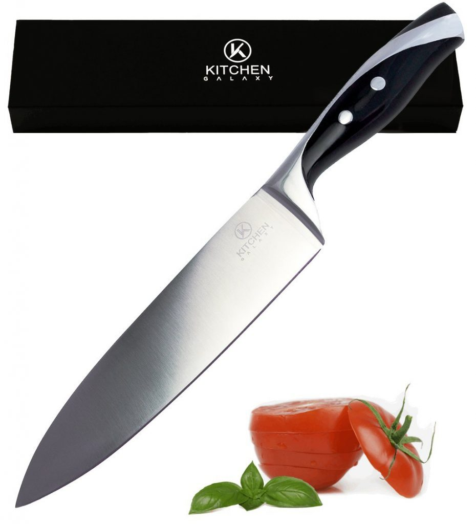7. CUTTING 8 Inch Chef Knife ~ Best Value ~ Imagine Your Japanese High Carbon Steel Cooking Knive Slicing Thru Veggies And Meat Like Butter as You're Chopping, Carving & Impressing Your Friends