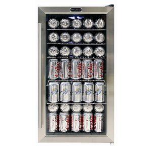 Beverage Refrigerator with Internal Fan