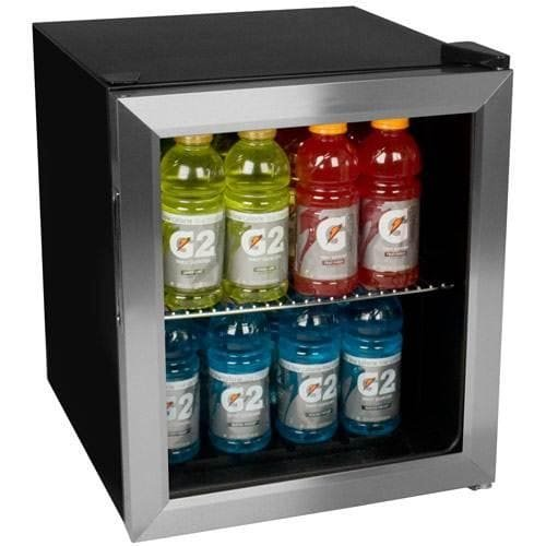 Stainless Steel 62-Can Beverage Cooler