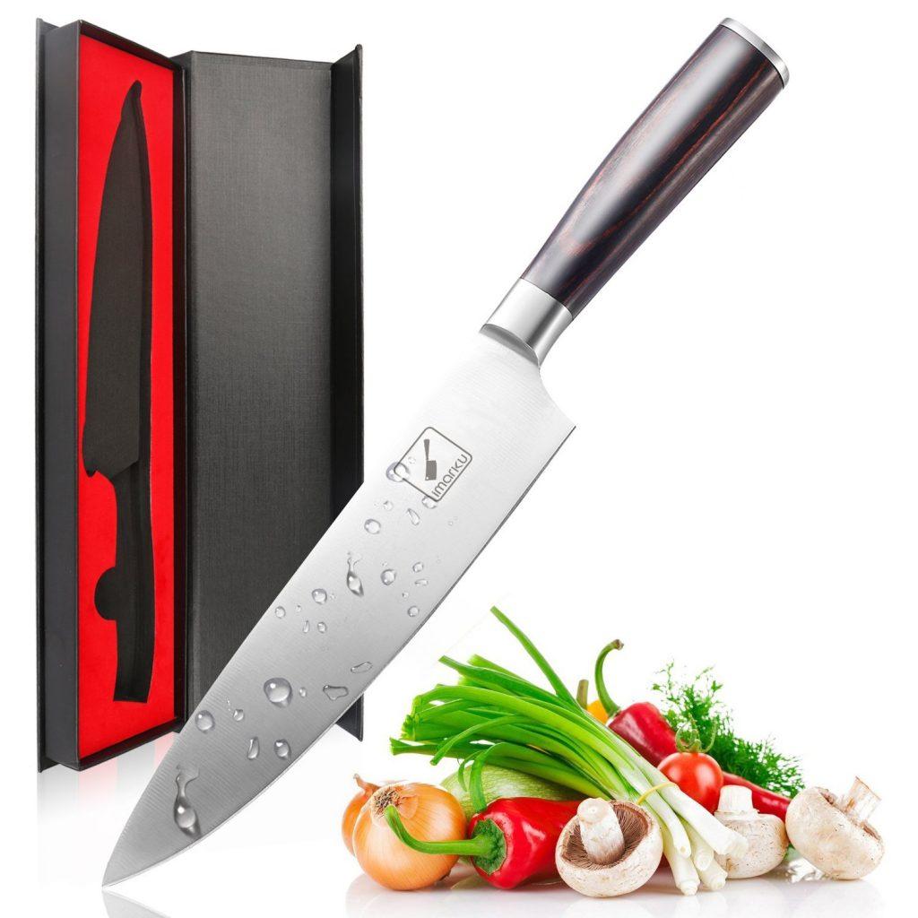 9. Imarku Pro Kitchen 8 inch Chefs Knife High Carbon Stainless Steel Sharp Knives Ergonomic Equipment