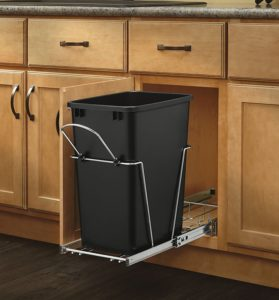 Rev-A-Shelf Chrome Waste Container
