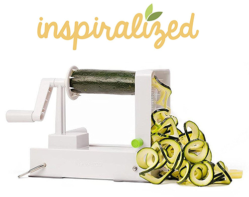 The Inspiralizer: Official vegetable spiralizer of Inspiralized