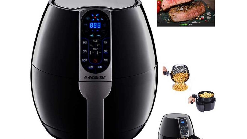 GoWISE USA 3.7 Best Air Fryer