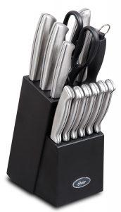 1. Oster Cutlery Block Set