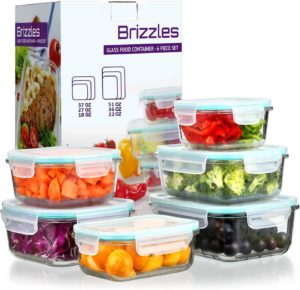 Leakproof Meal Prep Glass Containers