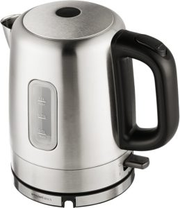 AmazonBasics Stainless Steel Portable Electric Kettle