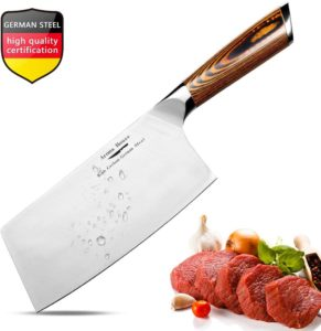 Knife Chef Knives with Ergonomic Handle for Home, Kitchen & Restaurant