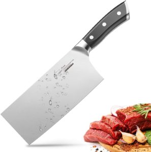 Razor Shape Chef's Knives with Ergonomic Handle