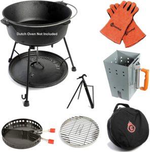 camp dutch oven lid