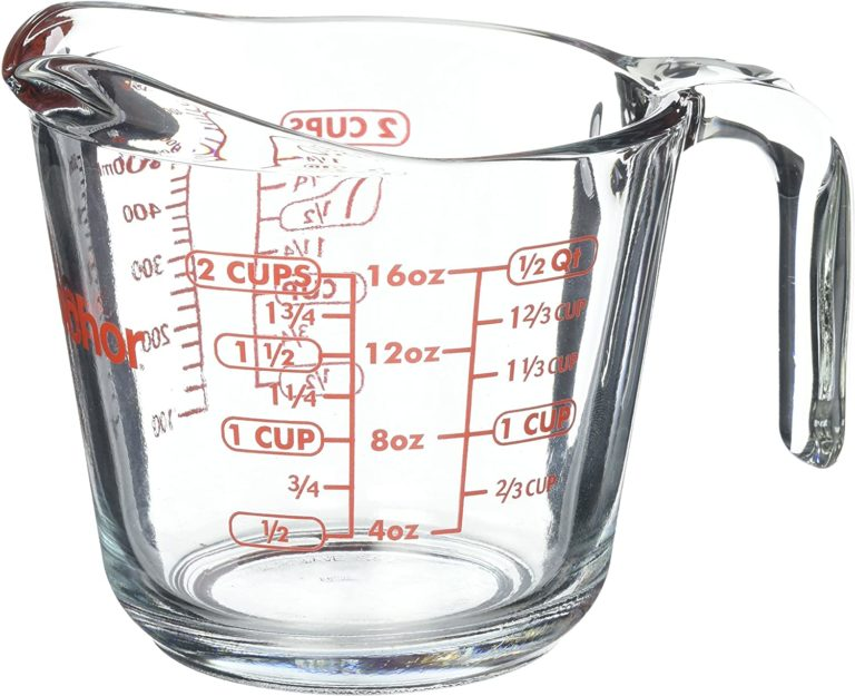 anchor glass measuring cup