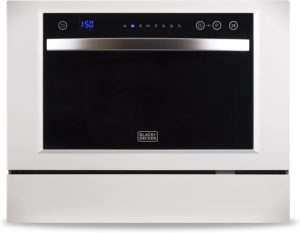black and decker countertop dishwasher