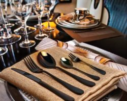 How About Enjoying New Way of Dining with These Black Silverware Sets? We Recommend You To Try Them Out!
