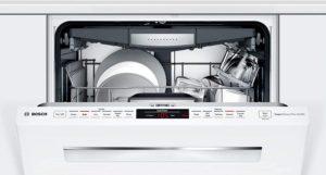 integrated dishwasher door