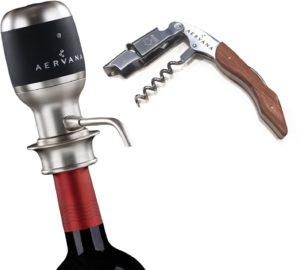 wine enthusiast aerator