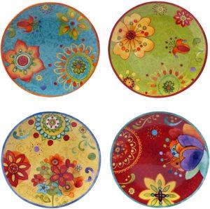 ceramic plates white